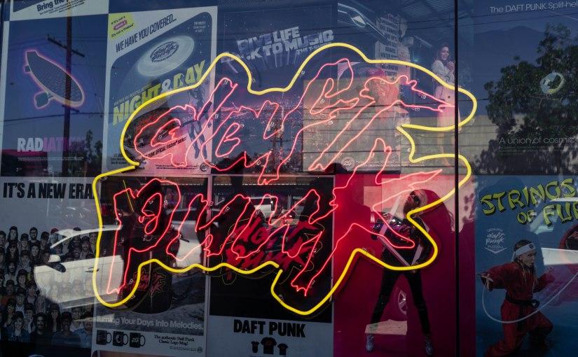 Daft Punk Pop-UpShop